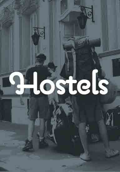 Budget hotels & hostels