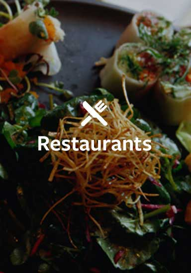 Restaurants in Denman & Hornby Islands