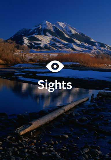Sights in Wrangell–St Elias National Park