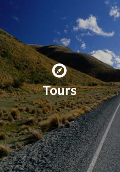 Tours in South Island